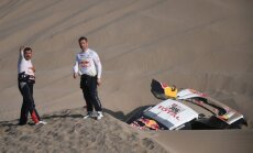 Lēbam stūrmaņa traumas dēļ nākas izstāties no Dakaras rallijreida