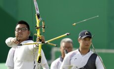 Rio olimpisko spēļu loka šaušanas vīriešu komandu sacensību rezultāti (06.08.2016.)