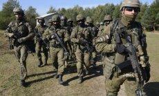 Polija piedāvās civiliedzīvotājiem militāro apmācību