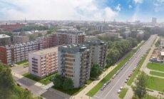 Foto: Skanstes apkārtnē būvēs 6,4 miljonus eiro vērtas daudzstāvu mājas '26Vesetas'