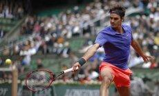 Federers 44.reizi iekļūst 'Grand Slam' turnīru ceturtdaļfinālā