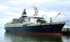Российский корабль-призрак прибило к берегам Калифорнии