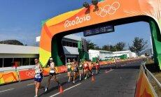Латвийский ходок прошагал 50 км и уступил победителю почти полчаса