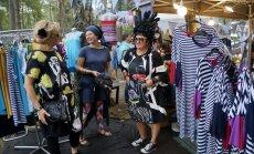 Stila un modes odziņas festivālā. 'Positivus' dizaineru tirdziņa pieredzes stāsti
