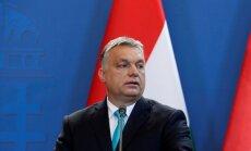ES vēlas pārņemt robežkontroli, lai veicinātu imigrāciju, pauž Orbāns