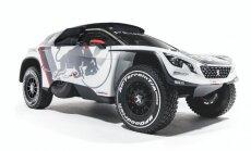 Foto: 'Peugeot' parāda savu jauno Dakaras rallija automobili