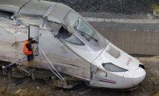 Avarējušā vilciena mašīnists: cilvēku nāves ir uz manas sirdsapziņas