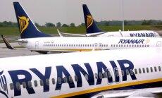 'Ryanair' Baltijā pārvadājis 15 miljonus pasažieru; visvairāk no Latvijas