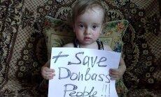 'Ukrainas bērni lūdz palīdzību pret nežēlīgajiem fašistiem' jeb propagandas karš soctīklos
