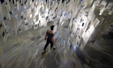 Foto: Atklāšanu gaida Latvijas ekspozīcija Venēcijas Arhitektūras biennālē