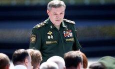 Krievijas Ģenerālštāba priekšnieks Baku ticies ar NATO spēku virspavēlnieku Eiropā
