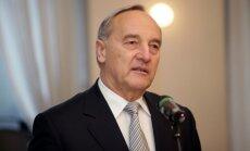 Bērziņš sveic jauno Čehijas prezidentu
