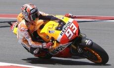 Debitants Markess pēc uzvaras Vācijā kļūst par 'MotoGP' sezonas kopvērtējuma līderi