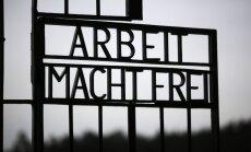 В Норвегии нашли ворота, похищенные из немецкого концлагеря Дахау
