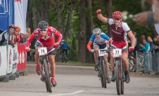 SEB MTB maratona Ikšķiles posmā aizraujošas trases un spriedze kopvērtējumā