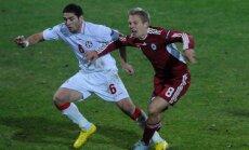 Cборная Латвии проведет товарищеский матч со сборной Грузии