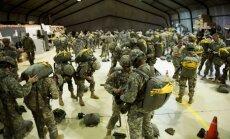 Ukrainā karavīru apmācībai ieradušies 300 ASV desantnieki