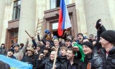 Ukraina apsver slēgt robežu ar Krieviju, lai nepieļautu provokatoru iebraukšanu