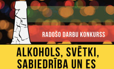 Jauniešus aicina piedalīties radošo darbu konkursā 'Alkohols, svētki, sabiedrība un es'