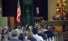 Vējonis mudina tautiešus ASV piedalīties Latvijas simtgades svētku rīkošanā