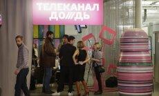 Par reklāmu translēšanu Ukraina aizliedz Krievijas telekanāla 'Doždj' pārraidīšanu valstī