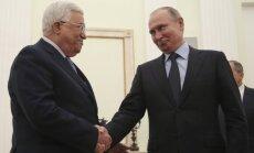 Приболевший Путин поговорил по телефону с Трампом и принял Аббаса