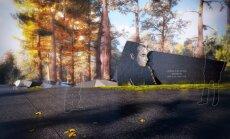 Ojāra Vācieša jauno kapa pieminekli kals Ķīnas marmorā; pašreizējo - pārvietos