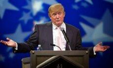 Tramps: hakeru uzbrukumi neietekmēja prezidenta vēlēšanu rezultātu