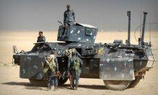 Foto: Mosulas frontē pamanīti arī Rietumu specvienību karavīri