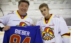 Justin Bieber, Jari Kurri