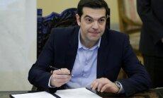 Grieķija bloķē Eiropas Savienības ziņojumu par jaunām sankcijām pret Krieviju