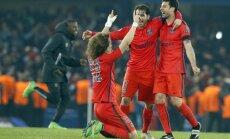 Parīzes 'Saint-Germain' pagarinājumā izrauj vietu Čempionu līgas ceturtdaļfinālā
