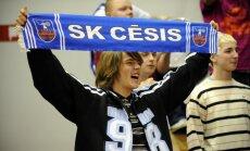 'Cēsu' basketbolistes sagrauj 'Tartu Universitāti'