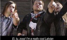 Nāciju sajūsmina Latvijas 'eirodziesmas' parodija