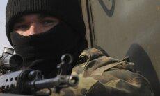 Ukrainas robežsargi pie Krimas aizturējuši Krievijas karavīru