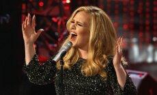 Adele nākamgad dosies Eiropas koncertturnejā