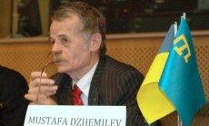 Krimas tatāru līderis: NATO ir jāiejaucas, pirms notiek slaktiņš
