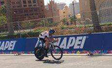 Ansonam 59. vieta pasaules čempionāta individuālajā braucienā junioru konkurencē