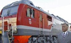 Matīss šomēnes plāno iepazīties ar jauno Krievijas dzelzceļa vadītāju