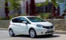 Uz pusi sarukusi 'Nissan' automobiļu realizācija Japānā