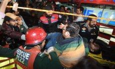 Sprādzienā Pakistānā vismaz 10 bojāgājušo