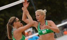 Jursone/Graudiņa netiek Olštinas 'Grand Slam' turnīra pamatsacensībās