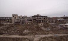 Video: Drūmi skati pamestā rūpnīcā Jelgavā