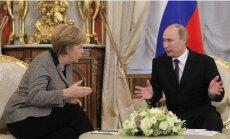 Кремль анонсировал встречу Путина и Меркель