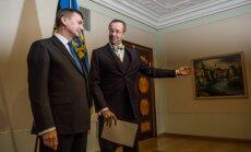 Demisionē ilggadējais Igaunijas premjers Ansips