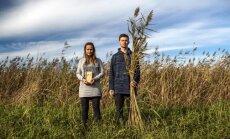 Atdot pasaulei labo. Ditas un Jāņa Katlapu ekoloģiskais bizness – salmiņi no niedrēm