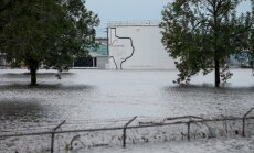 Plūdu nomocītās Hjūstonas pievārtē eksplodējusi ķīmiskā rūpnīca