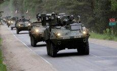 NATO bataljona kaujas grupa Igaunijā ieradīsies aprīļa vidū