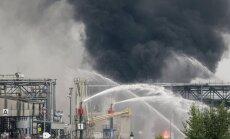 Sprādzienā BASF rūpnīcā Vācijā gājis bojā viens cilvēks un seši ievainoti