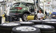 'Škoda' izgatavojusi jau miljonu apvidus auto